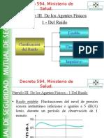 Decreto 594 Agentes FísicosDGA