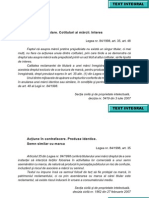 Rezumate Buletin de Jurisprudenta in Dimeniul Proprietatii Intelectuale National