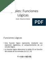 10 Funciones Lógicas