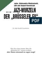 Die Nazi-Wurzeln der 'Brüssler EU'