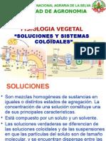 2 Clase SOLUCIONES, Sistema Coloidal 2011