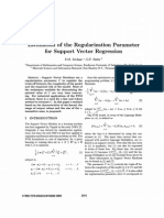 JORDAAN2002_Estimation of the Regularization Parameter for SVR