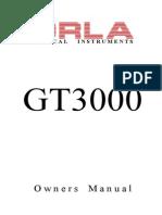 GT3000 Manual GB