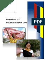Micro Curriculo Universidad Buen Vivir