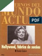 Cuadernos Del Mundo Actual Historia 16 021 1993 Hollywood Fabrica de Suenios