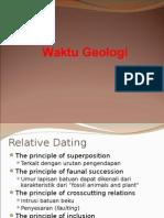 WAKTU GEOLOGI