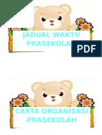 Label Prasekolah