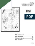Assembly Manual k8015 Rev2