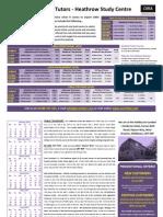 Acorn CIMA Classroom Brochure Jan-May 2015 Exams Heathrow