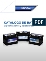 Catalogo de Baterias ACDelco2013