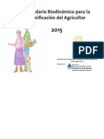 Calendario Biodinámico 2015