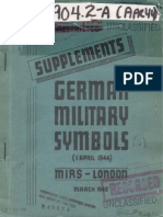 Supplements German Military Symbols