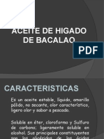 Producto Aceite de Bacalao