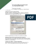 SystemC vs 2005 Tutorial