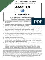 AMC10B2005