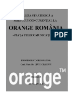 Analiza Strategica a Orange Romania