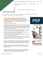 03-02-15 INTERVENCIÓN DE LA SENADORA MARCELA GUERRA CASTILLO, PARA REFERIRSE AL PUNTO DE ACUERDO EN RELACIÓN CON LA EXPLOSIÓN REGISTRADA EN EL HOSPITAL MATERNO INFANTIL, DE LA DELEGACIÓN CUAJIMALPA, DISTRITO FEDERAL | Talla Política