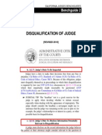 Judge Duty to Be Impartial - Disclose Information Relevant to Disqualification - California Judges Benchguides Judicial Council of California - Commission on Judicial Performance Victoria B. Henley - California Supreme Court Tani Cantil-Sakauye - Judge Misconduct - Conflict of Interest Disclosure - Disqualification - Recusal