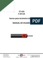 ST420 Tacometro Manual