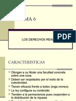 Los Derechos Reales Tema 6