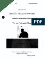 Propuesta de Trabajo 2008 - 2012