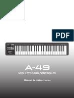 Manual Roland A-49 Español
