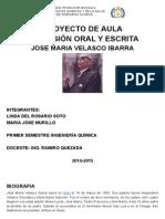 Proyecto Velasco Ibarra