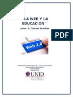 La Web y La Educación (Jaime g. Coronel Santillan)