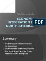 Economic Integration in North America