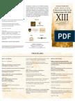 Programa Asamblea año XIII