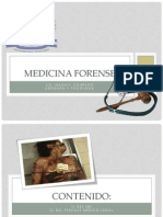 Generalidades de la Medicina Forense en Nicaragua