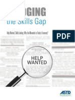 Bridging the Skills Gap 2012