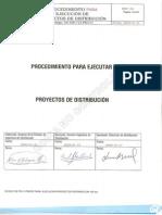 Procedimiento Ejecución Proyecto Distribucion