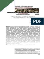 KARVAT e MACHADO - História Intelecitual e História de Intelectuais Reflexoes Perspectivas e Problemas