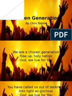 Chosen Generation Slides