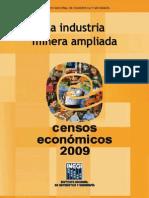 Censos 2009 La Industria Minera