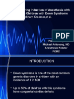 Bradycardia During Induction of Anesthesia With