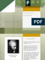 Biografía de Kant y Explicación Del Trabajo de Investigación