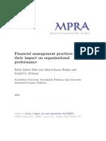 MPRA Paper 32685