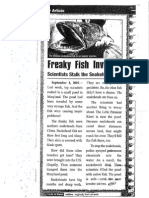 freaky fish text features