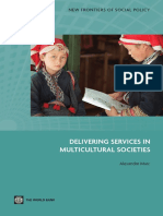 Delivering Services in Multicultural Societies