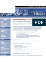 NYPD Website - Stop and Frisk
