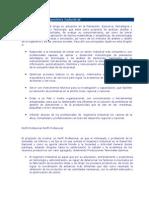 Objetivos y perfil de La Ingeniería Industrial