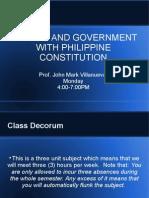 Class Decorum