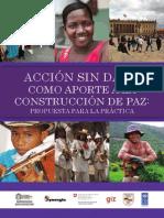 PNUD Accion_sin_dano Propuesta Práctica y Metodológica