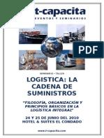 TEMARIO - LOGISTICA - LA CADENA DE SUMINISTROS 24 Y 25 DE JUNIO.doc