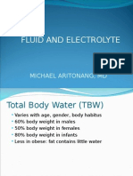Fluids and Electrolyte