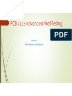 UTP - Advanced Well Test Analysis Course - Jan 2015 Semester - Chapter 2