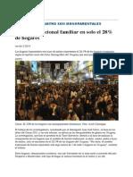 Modelo tradicional familiar en solo el 28% de hogares | Noticias Uruguay y el Mundo actualizadas - Diario EL PAIS Uruguay