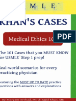 MEMedical Ethics 101 Khan s Cases for USMLE